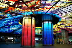 559   /The Dome of Light @ Formosa Boulevard Station, Kaohsiung MRT. (Londer Ray.tw) Tags: