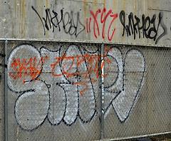 Graffiti Found In Lower Manhattan. Starv. Inkhead. IH1. XYZ (Allan Ludwig) Tags: graffiti xyz inkhead ih1 starv graffitiinlowermanhattan