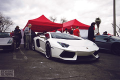 RDB x DMC Aventador (araikyegi) Tags: white car photography la los angeles body sunday super exotic kit carbon fiber dmc matte genuine bodykit rdb aventador