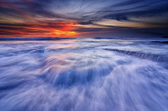 The Hidden Remains (eggysayoga) Tags: sunset sea seascape motion color beach water sunrise landscape nikon lima hard wave tokina filter lee nd graduated gnd seseh 1116mm d7000