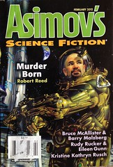 Asimov's 2012 02 (sdobie) Tags: reed 100views 400views 300views 200views covers 500views magazines photostream gunn 2012 export mcallister giancola rusch rucker asimovs malzberg