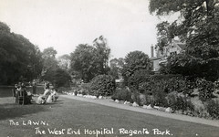 The West End Hospital, Regents Park (robmcrorie) Tags: park sun house west london history saint st hospital postcard soho system health national nhs end ww2 nervous service rocket therapy masters development v1 1920 regents psychiatrist diseases neurology katheriens neurologost