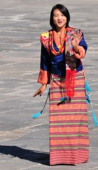 Bhutanese Beauty (john a d willis) Tags: festival bhutan buddhism monastery dzong thimpu trashichhoe