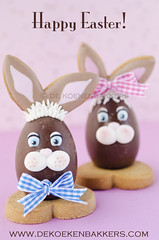 Easter Bunnies (De Koekenbakkers) Tags: easter easterbunny chocolateegg paashaas chocolatebunny eastercookie bunnycookie dekoekenbakkers wwwdekoekenbakkerscom dekoekenbakker marielledevroome hetkoekboek