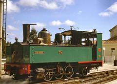 CF de la Baie de Somme no.3714. Noyelles. 30 July 2002 (ricsrailpics) Tags: 2002 france railway steam picardie narrowgauge baiedesomme noyellessurmer