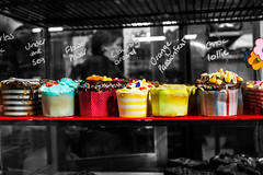 Yummy (Nuxis [Davide]) Tags: colors cupcackes southmelbournemarketcakesyummysonya550