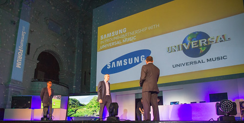 Samsung Africa Forum 2013 at Cape Town City Hall - Universal Music MOU_