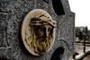 Irish Jesus (Texaselephant) Tags: ireland monument grave stone dead religious death catholic sad jesus eire weathered marble cracks limerick