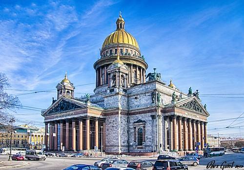 St. Isaac Cathedral. Saint-Petersburg. Исаакиевский собор. Санкт-Петербург. ©  Peer.Gynt