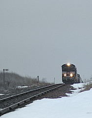 Up and Over (JayLev) Tags: nyc snow ice ns shannon cp harper dme 1066 norfolksouthern 272 kittredge newyorkcentral