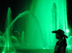 Study in green (Kanikoski) Tags: usa fountain florida jacksonville stpatricksday noreen topv7777 yahooeditorial