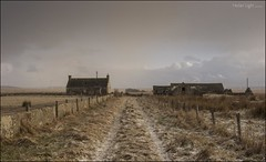 78 - Times Change (North Light) Tags: snow weather buildings landscape march scotland track farm caithness ballone mybster
