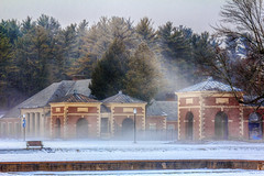 Snowy Saratoga Spa State Park (Samantha Decker) Tags: snow newyork canon eos upstate saratogasprings saratogaspastatepark 60d canonef100mmf2lusm sdny topazadjust samanthadecker