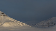 Mälardalen (knutmsa) Tags: sun snow mountains ice nikon svalbard arctic spitsbergen longyearbyen leicaapotelytr180mmf34 d800e nikond800e