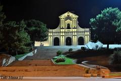 Basilica Bonaria - Cagliari (Lello Massa) Tags: sardegna italy night nikon italia sardinia notte cagliari d3000 basilicabonaria