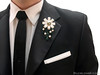 """LEGO Boutonniere and Pocket Square • <a style=""""font-size:0.8em;"""" href=""""http://www.flickr.com/photos/44124306864@N01/8581652530/"""" target=""""_blank"""">View on Flickr</a>"""