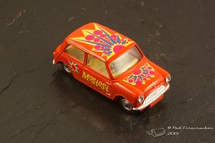 Corgi 349 Pop Art Mostest Mini (Red Firecracker) Tags: corgi mini 349 mostest