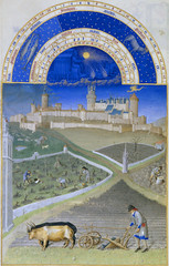 March (petrus.agricola) Tags: les de berry medieval muse illuminated chateau manuscript trs duc chantilly frres riches heures cond limbourg