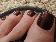 OPI - Expresso Your Style (toepaintguy) Tags: brown man men guy feet beer dark foot toe nail polish glossy nails pedicure cocoa root toenails toenail lacquer pedi