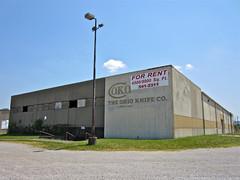 The Ohio Knife Co., Cincinnati, OH (Robby Virus) Tags: ohio abandoned closed cincinnati empty knife equipment company cutting 1898 fatory
