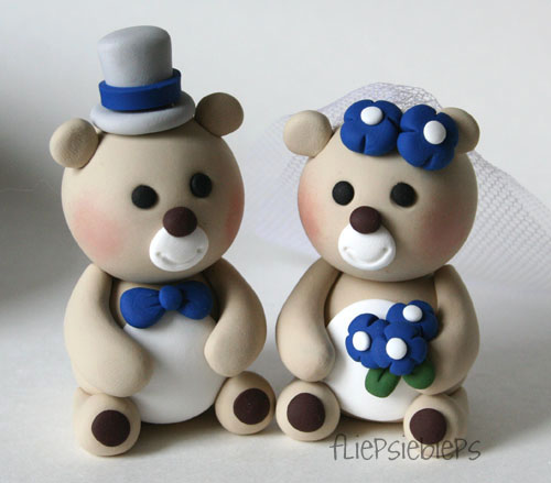 bear wedding cake topper flickr photos tagged taarttopper picssr 11201