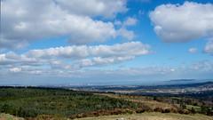 DSC_0010-view from top looking ahead (TinaKav) Tags: sea snow cloudy scenic bluesky cloudysky hillwalking greenfields carrickgollogan