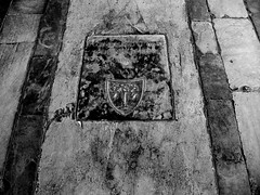 All that glisters is not gold; Often have you heard that told (Justine Bernardi) Tags: street trip travel italy white black art history monochrome grave square death blackwhite italia sweet