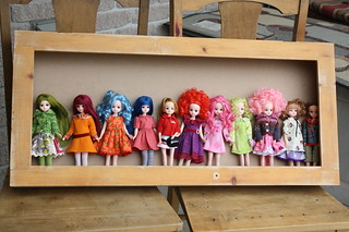 All My Licca dolls.Most bought as heads and put on Blythe bodies  ; D