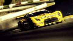YellowHat-AutumnRing-01 (Jrmy C. (Kodje)) Tags: car nissan automotive voiture gran turismo playstation hdr gtr supergt yellowhat tomica ps3 gt5 yms r35 photomode