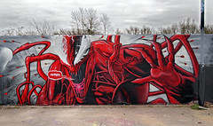 Carnage ('gnasher') Tags: urban graffiti carnage marvel gnasher davidnash gnashermurals