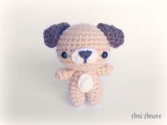 Cutie Pup! (denae.amiamore) Tags: dog cute puppy handmade crochet cutie plush kawaii plushie amigurumi