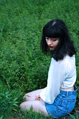 Untitled (oce∆ndust) Tags: nature girl vertical canon photography verticalphotography