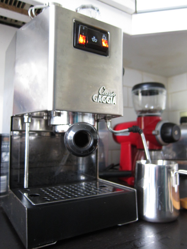 Princess Classic Coffee Maker And Grinder : The World s Best Photos of gaggia and grinder - Flickr Hive Mind
