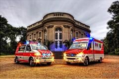 Rettungswagen und Notarteinsatzfahrzeug (HDR-Einsatzfahrzeuge) Tags: emergency rettungsdienst hdr hdri notfallrettung hdreinsatzfahrzeuge sonicsweb