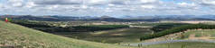 Arboretum south view panorama (sbyrnedotcom) Tags: panorama playing kids easter australia arboretum lookout canberra act rx100