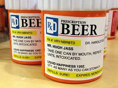 RX #: VRY-NBR8TD - Las Vegas, NV (tossmeanote) Tags: las vegas blue orange beer yellow funny hugh label nevada happiness nv novelty intoxicated item liquid prescription rx iphone jass refill 12oz 2013 tossmeanote