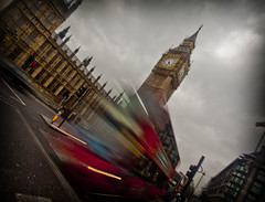 Houses of Parliament (Explored) (mplatt86) Tags: road uk trafficlights bus london clouds movement traffic housesofparliament bigben government redbus portculishouse britiain palacesofwestminster