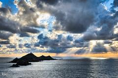 Les îles Sanguinaires, Corsica
