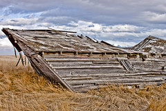 April 6, 2013 (The Lost Canuck Photography by Cody Kapcsos) Tags: old canada abandoned farmhouse historic alberta fallen disrepair farmstead mdwillowcreekalberta