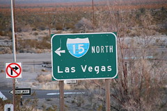 (Cristian Dedeu Van den Berg) Tags: las vegas way board north 15 roadtrip streetboard