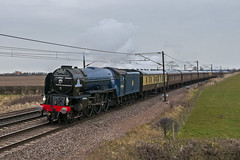 Tornado passing Bolton Percy (4486Merlin) Tags: england unitedkingdom transport steam tornado railways northyorkshire gbr cathedralsexpress boltonpercy 60163 lnerclassa1 6lner