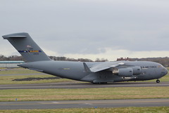 04-4133 Boeing C-17A USAF (GSairpics) Tags: travel plane airplane scotland flying airport aircraft aviation military transport flight aeroplane cargo c17 boeing usaf freight prestwick pik ayrshire c17a egpk 44133 044133 gsairpics