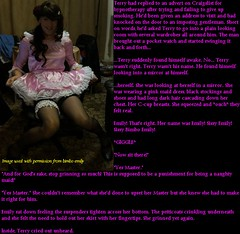 The sissy (Jenni Makepeace) Tags: fetish transformation magic tgirl sissy caption captions mtf tgcaptions tgcaption