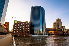 GRAND RAPIDS FLOOD 2013-1407 (RichardDemingPhotography) Tags: flooding flood michigan grandrapids grandriver grandrapidsmichigan floodwater westmichigan downtowngrandrapids puremichigan flood2013 michiganflooding grandrapidsflood