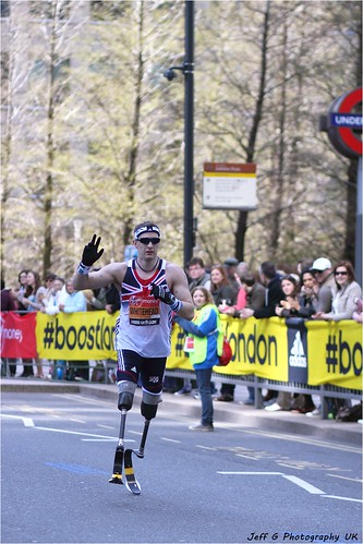 2013 London Marathon IPC Race : Richard Whitehead