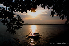 ? (manwar2010) Tags: art nature water sunrise canon river boat asia you tag award explore chrome come geo geotag ganga manwar earthasia uluberia