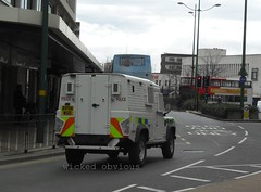 West Midlands Police Land Rover Defender CAV 100 BV58 WUD (wicked_obvious) Tags: west police rover land 100 midlands defender cav bv58wud