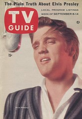 TV Guide - September 8-14, 1956 - Elvis Presley (The Pie Shops Collection) Tags: television vintage magazine tv elvis 1956 presley tvguide captainkangaroo