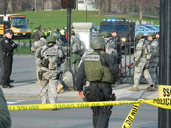 Metro SWAT (Cerebralzero) Tags: boston gun leo marathon military rifle guard police assault national guns handgun dhs bombing swat fbi firearm firearms bodyarmor