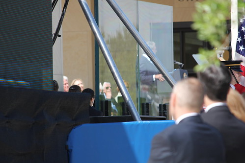 TSLAC Staff Attend President George W. Bush Library Opening 4.25.13
